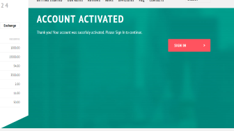 Cryptex24 account activation