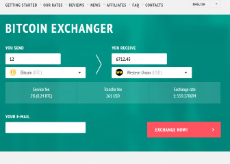 Sell Bitcoin with Cryptex24